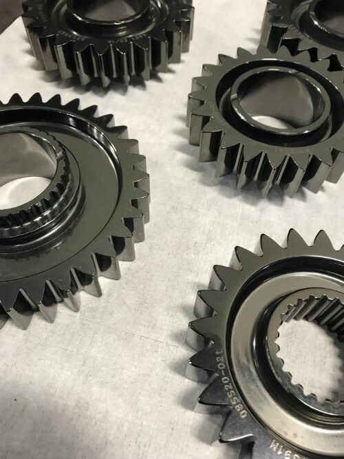 Picture of coated gears