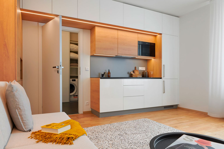 garsoniera s moderním designu  - strizkov.apartments