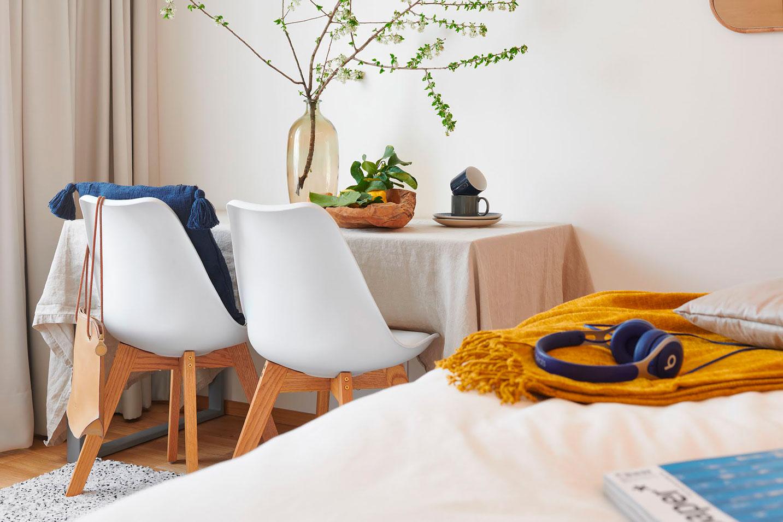 světlé a příjemné interiéry  - strizkov.apartments