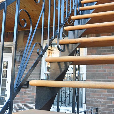 rampes et escaliers