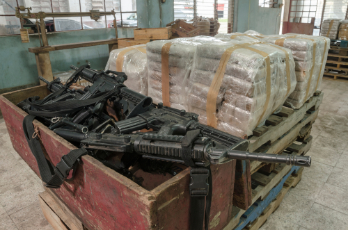 cartel cocaine and guns