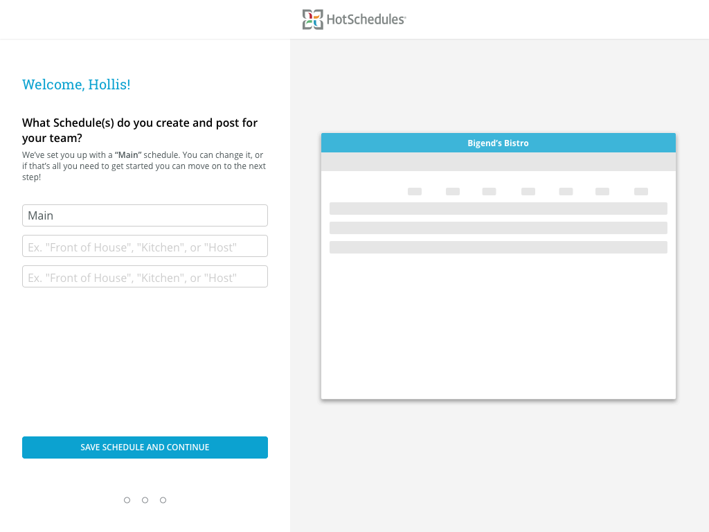 Essentials Onboarding high definition wireframe