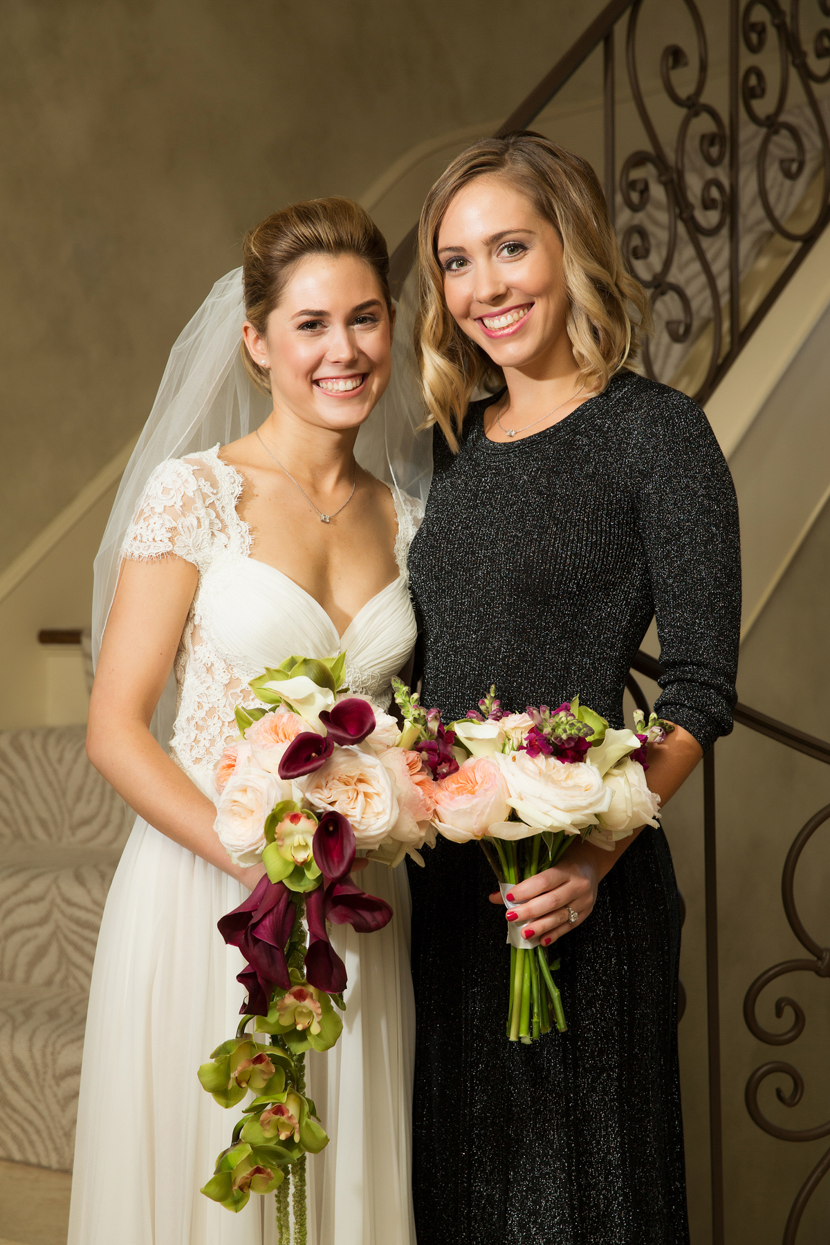 bride and bridesmaid bouquets richmond virginia wedding florist