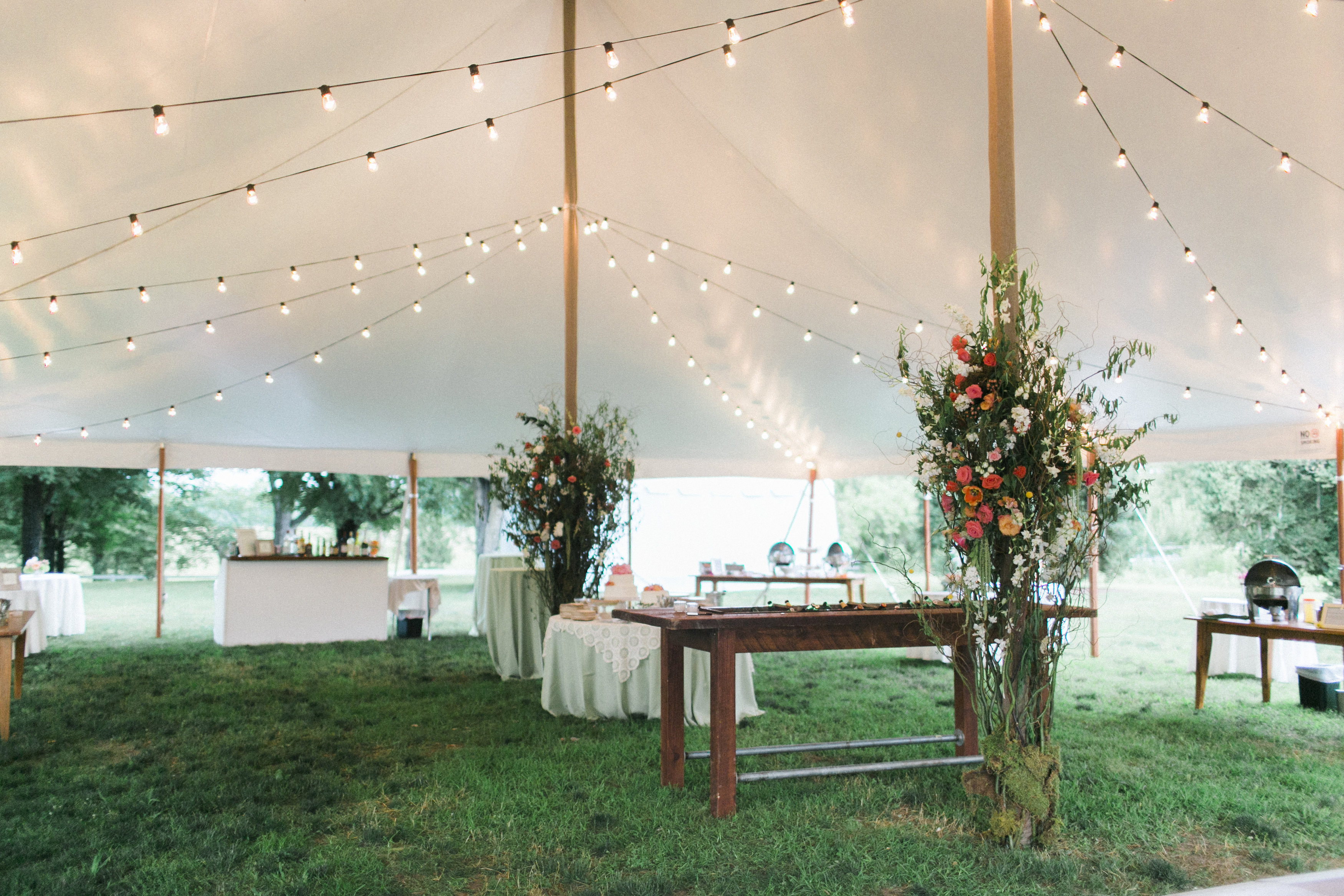 tent decor tuckahoe plantation wedding florist richmond virginia