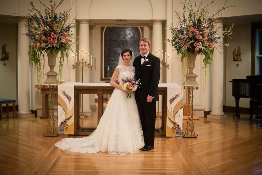 altar arrangements richmond virginia wedding florist