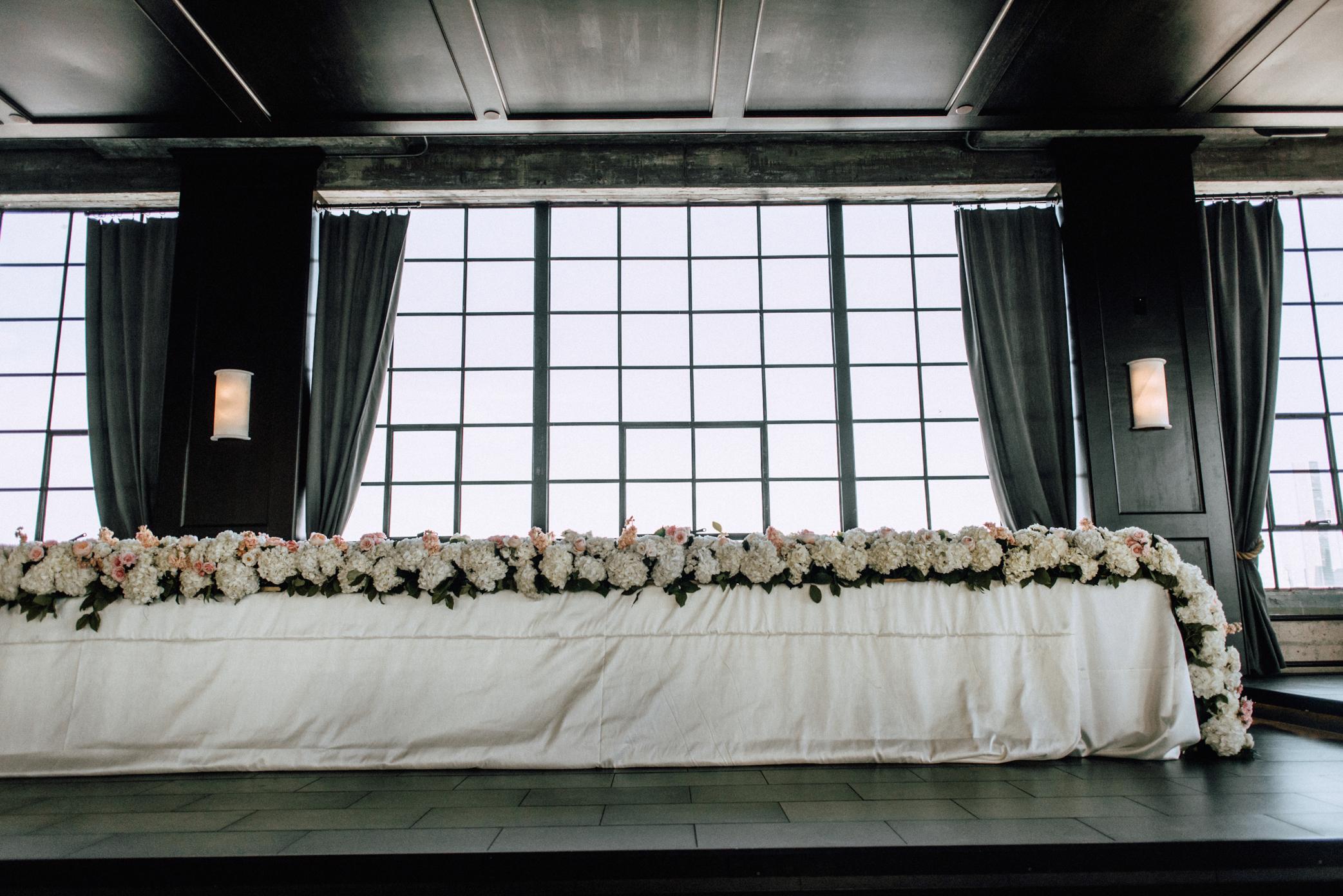 head table kings table flowers wedding florist richmond virginia