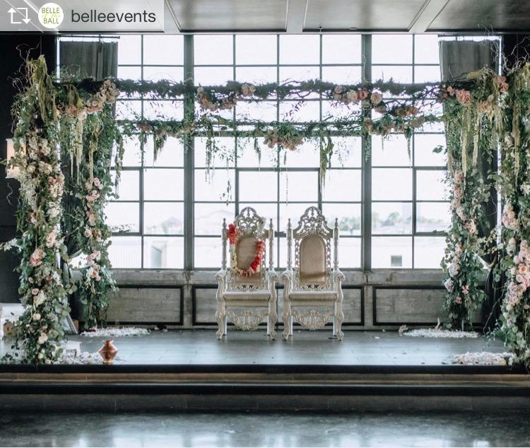 mandap wedding flowers richmond virginia wedding florist