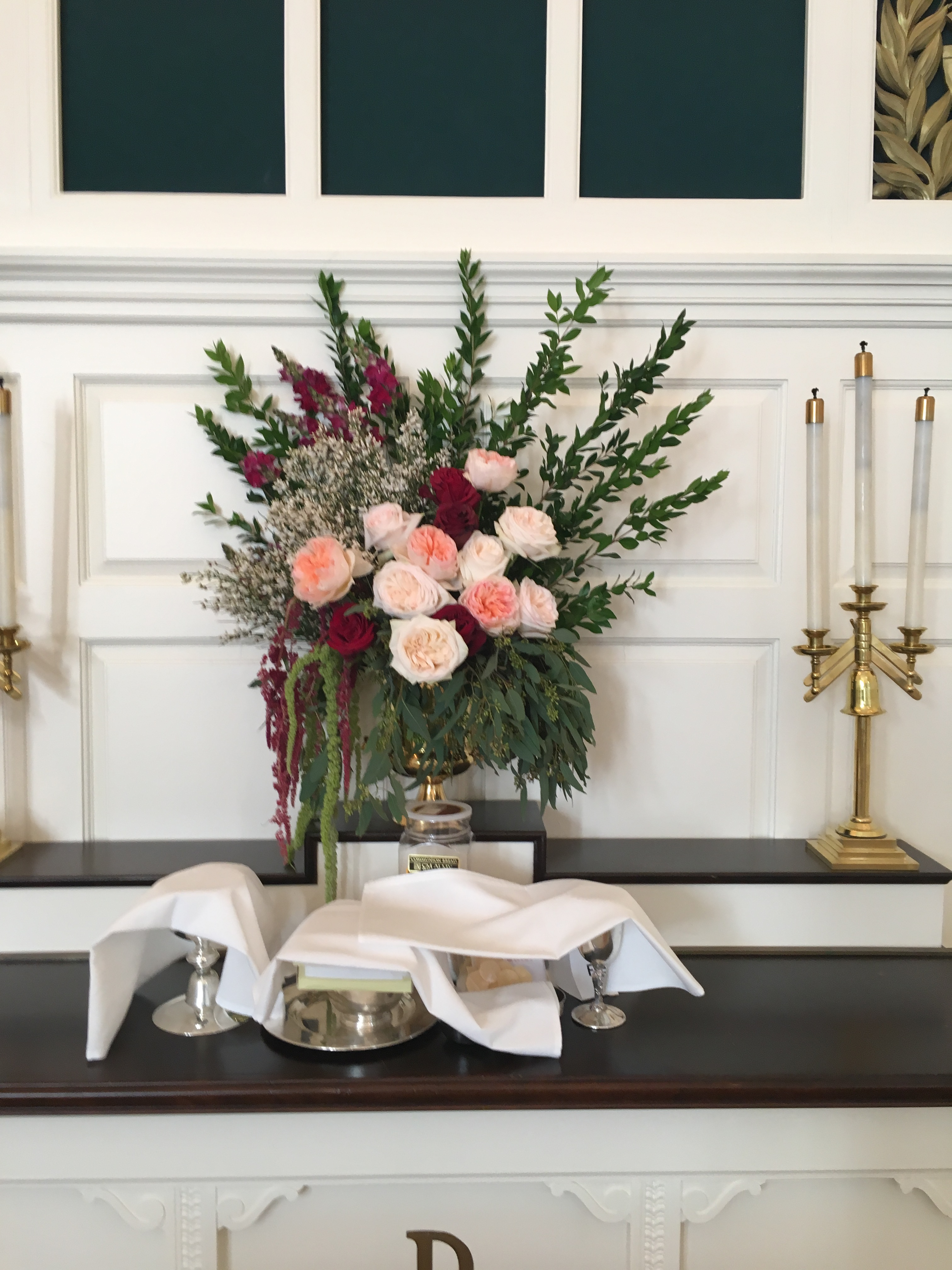 altar flowers richmond virginia wedding florist