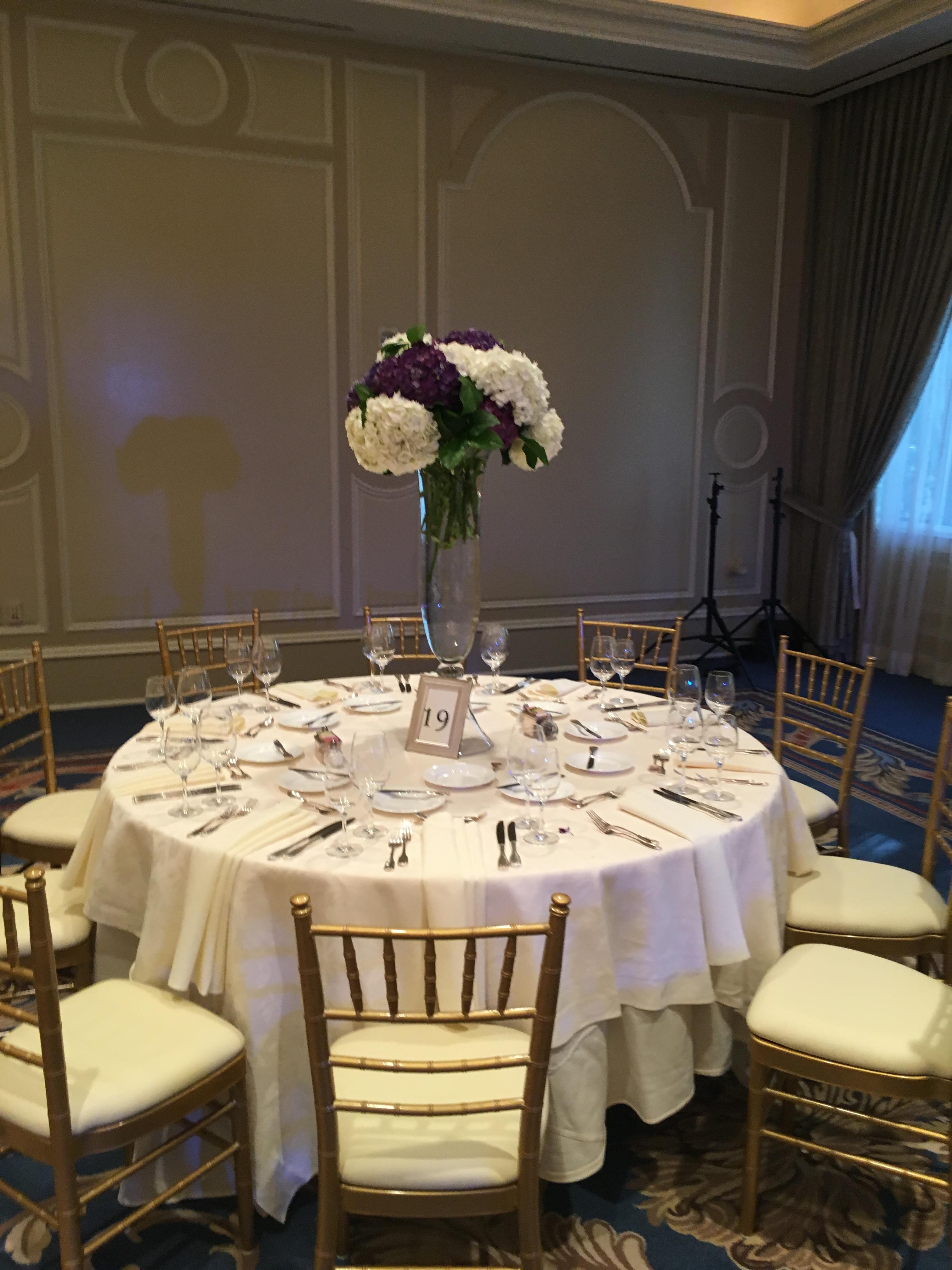 tall arrangement wedding flowers richmond virginia florist