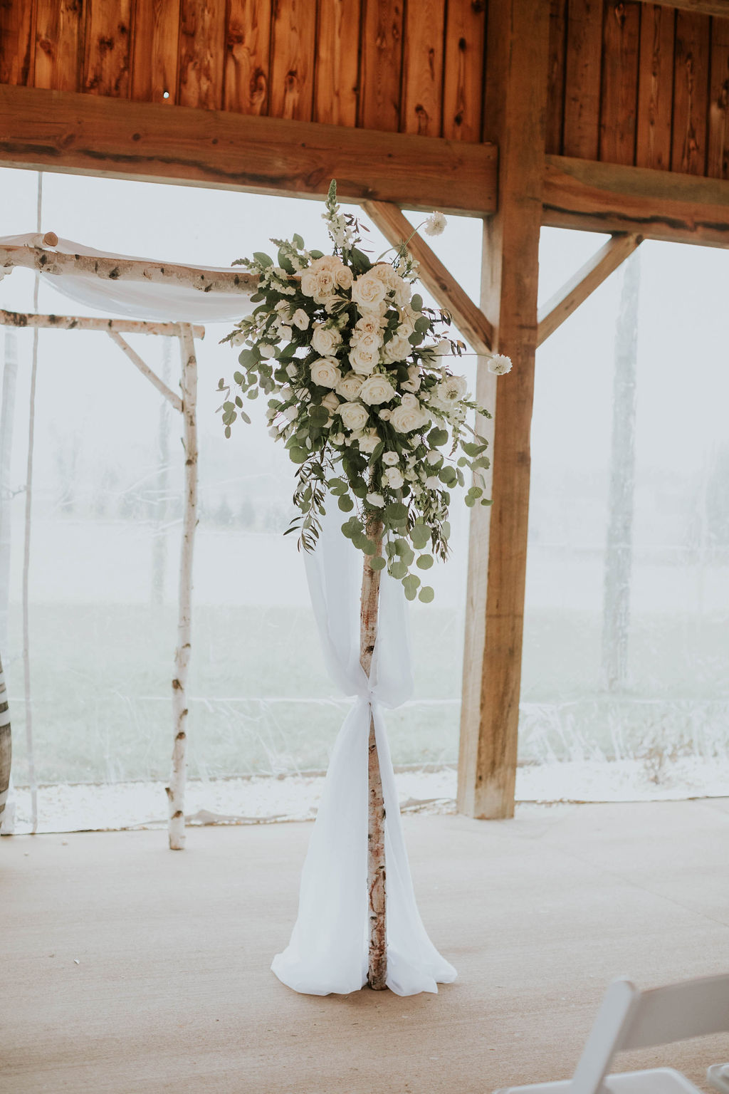 white chuppah floral decor chuppah flowers richmond wedding florist virginia wedding florist white flowers
