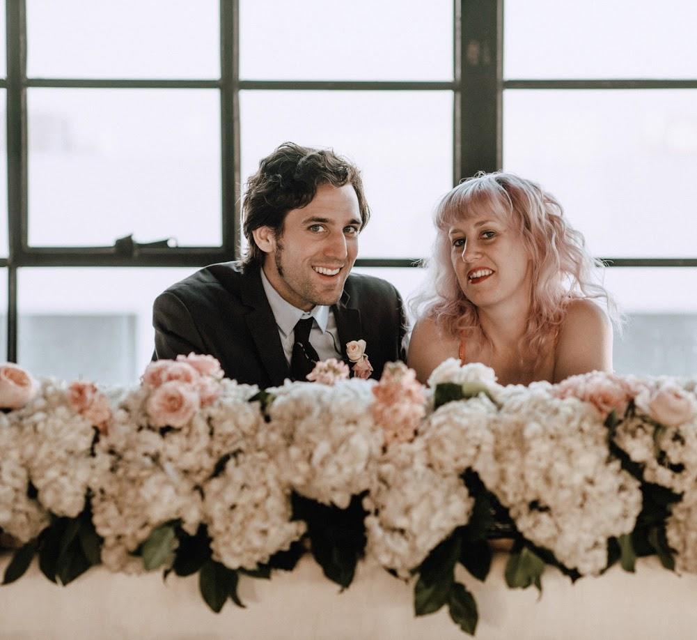 king table decor head table decor floral runner wedding flowers richmond virginia wedding florist