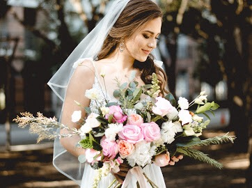 Bridal bouquet garden style bouquet richmond wedding florist virginia