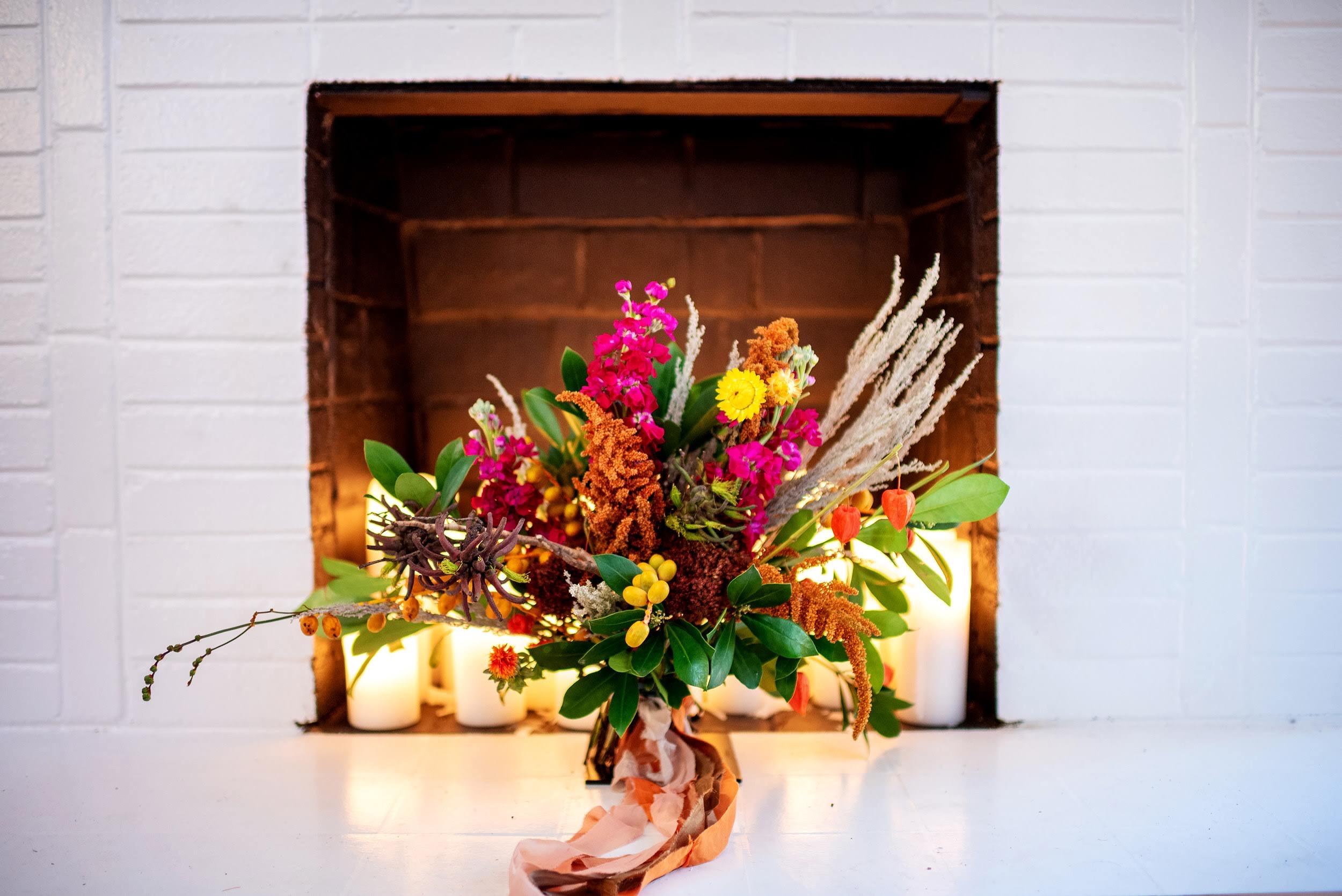 llama wedding flowers bouquet richmond wedding florist virginia