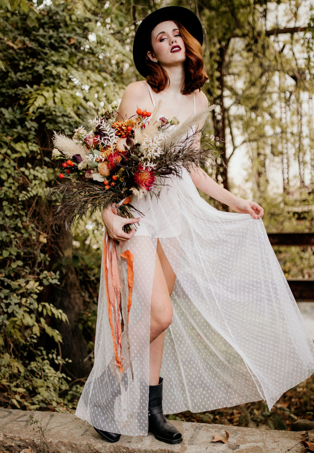 boho bohemian wedding flowers richmond florist maryann blooms bouquet