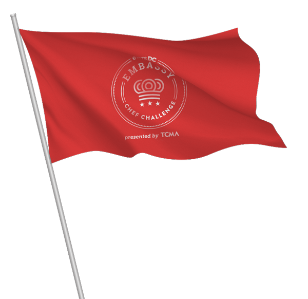 Embassy Chef Challenge Flag