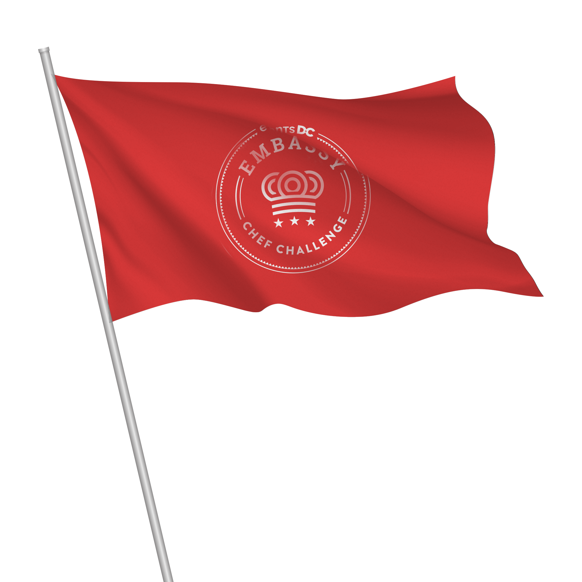 Embassy Chef Challenge Flag