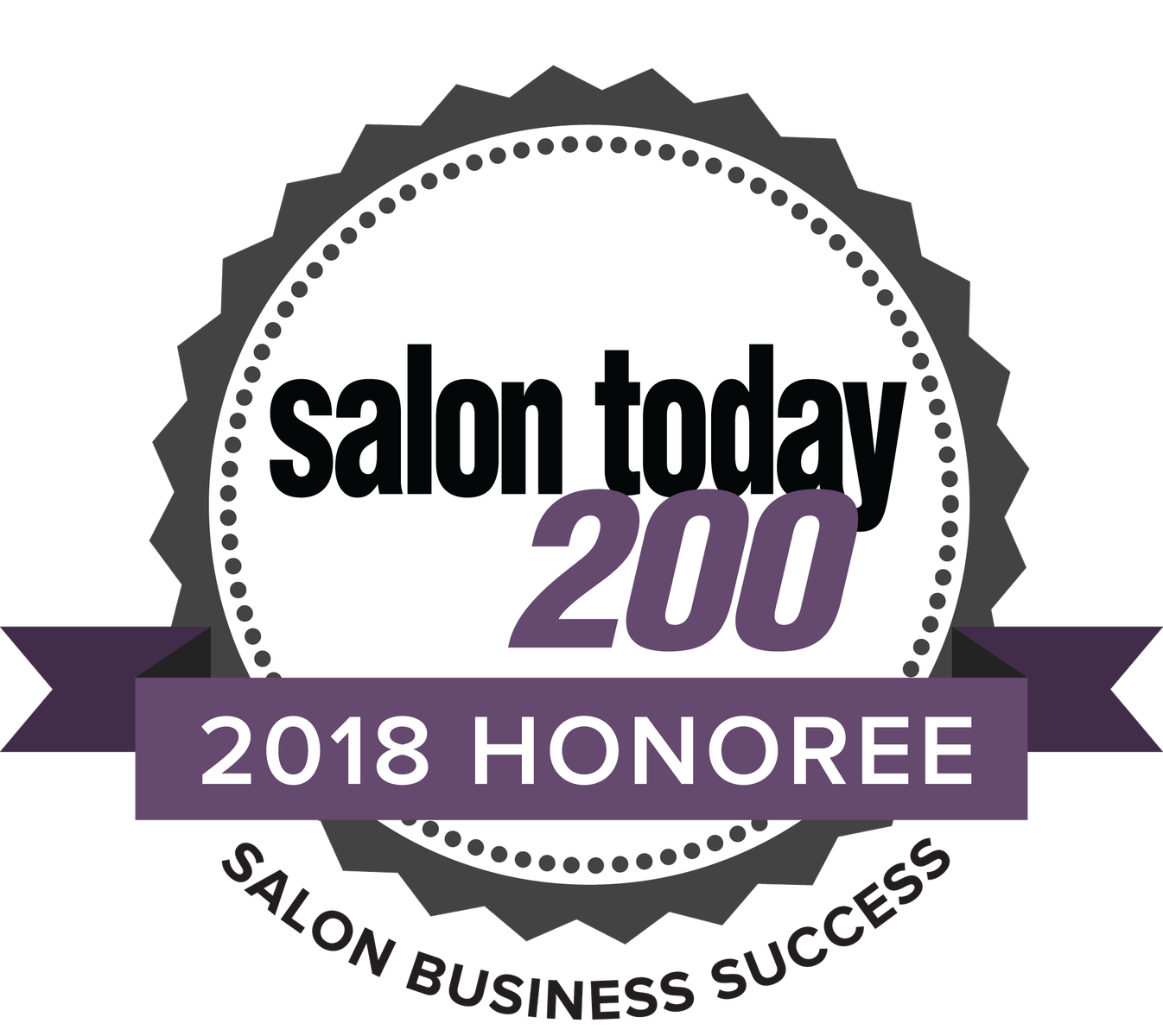 Salon Today 2018 honoree logo