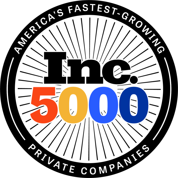 Ventive has been featured on the Inc 5000 list 3 times in a row