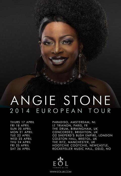 Angie Stone 2014 Tour