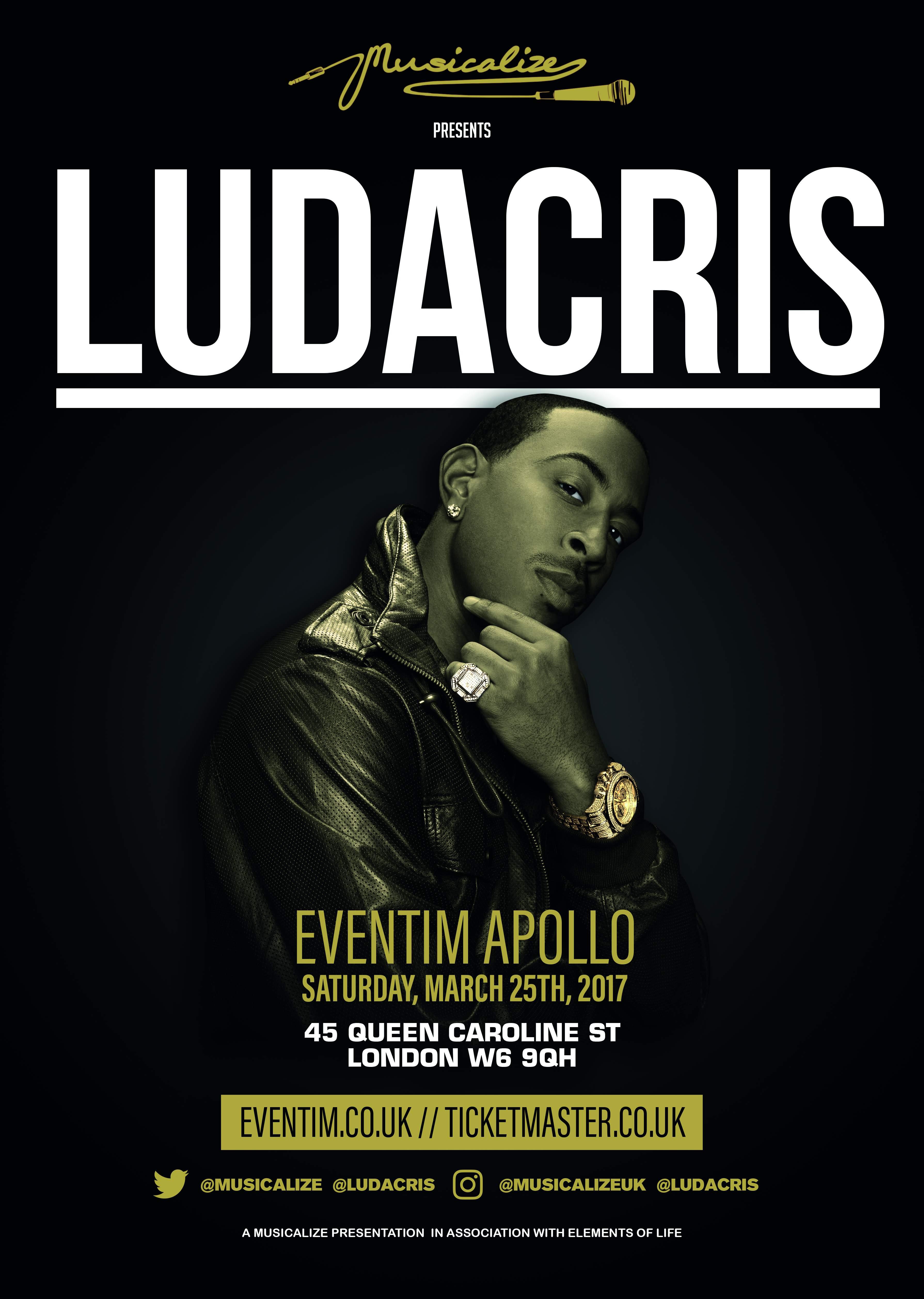 Ludacris London 2017