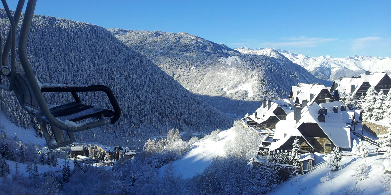 View from one of the ski lifts