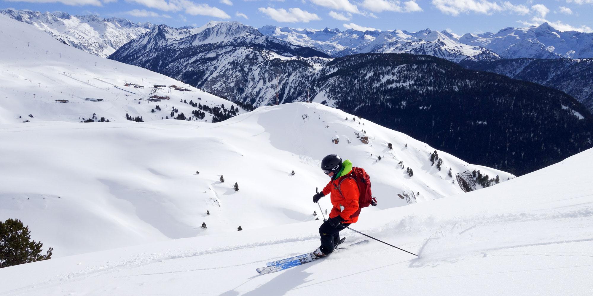 Extensive skiing