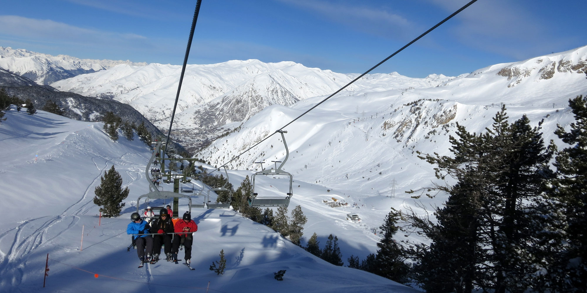 One of the ski lifts