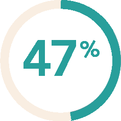 47% icon