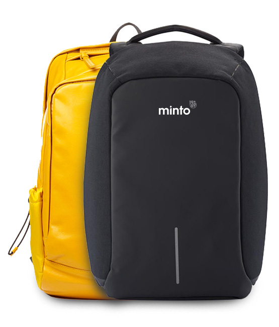 Minto Branded Rucksacks