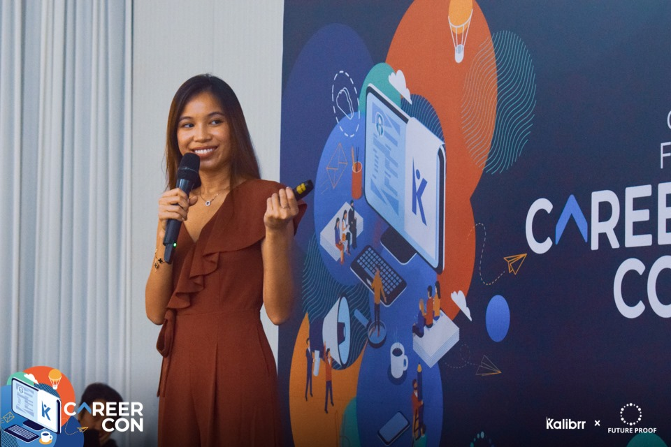 Cardinal Digital's CEO Natalie Nguyen at #CareerCon2019