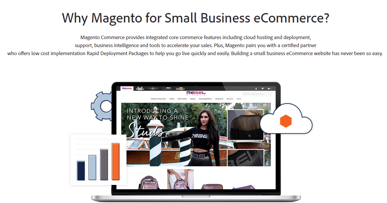answer to why magento is good for small business ecommerce
