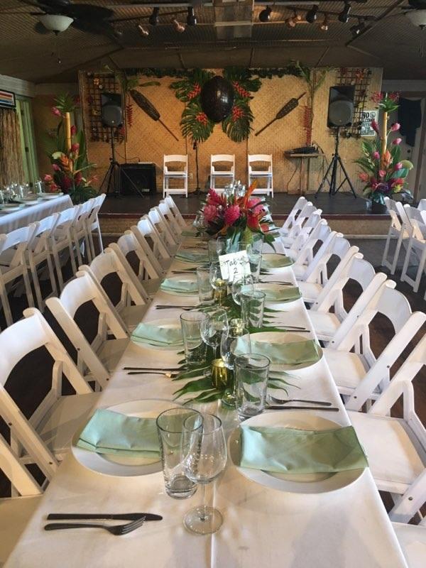 wedding venue place settings