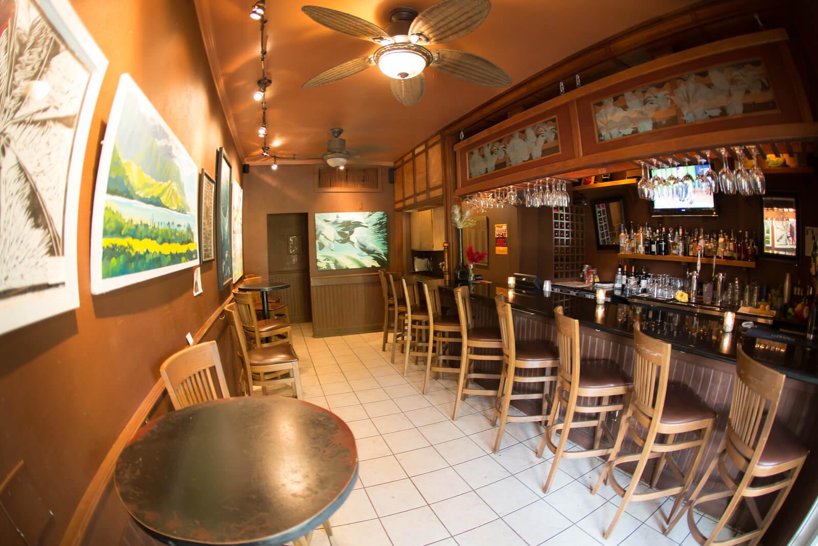 Main restaurant interior