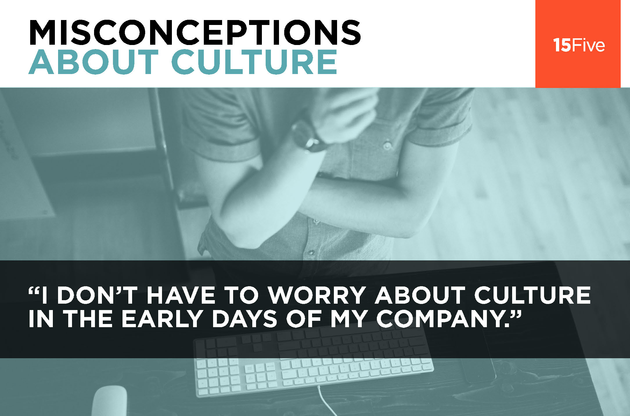 15Five Misconceptions slide
