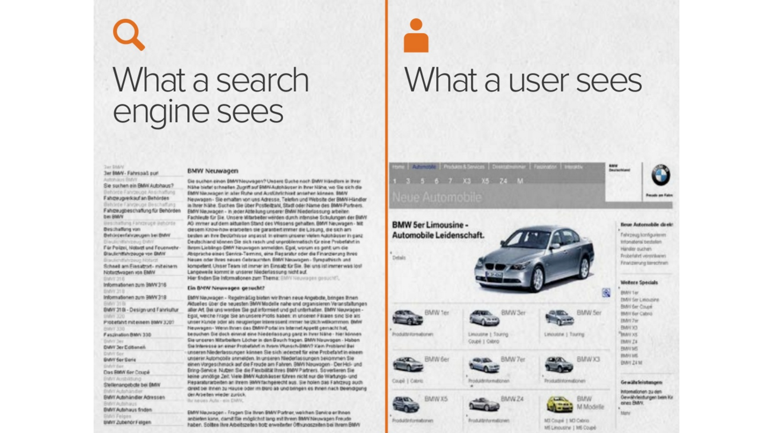 Hubspot slide covering SEO