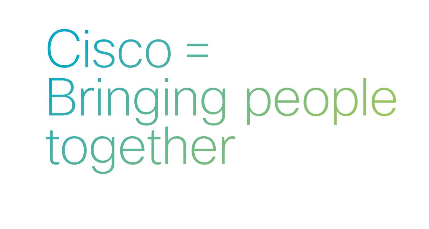 Cisco tagline