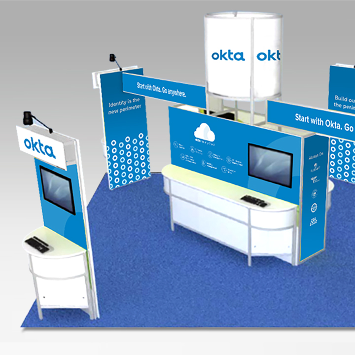 Conference booths