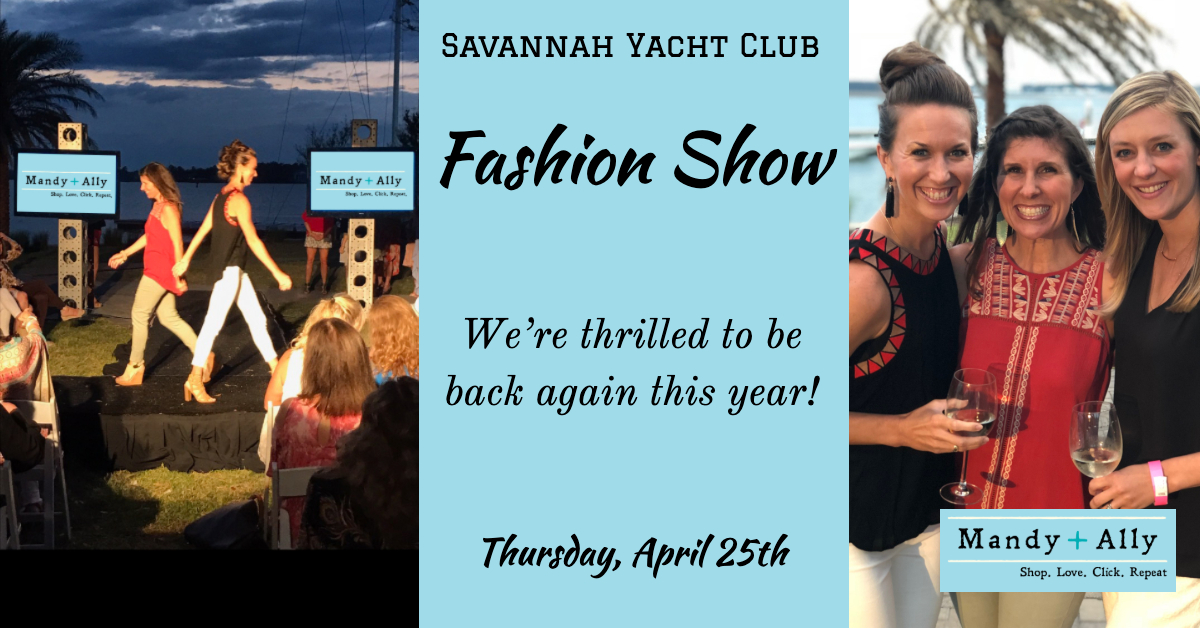 Savannah Yacht Club Fashion Show