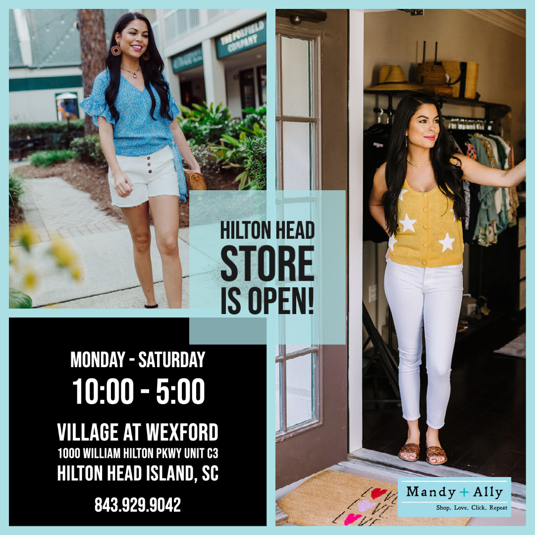 Mandy+Ally Opens Hilton Head Island Store