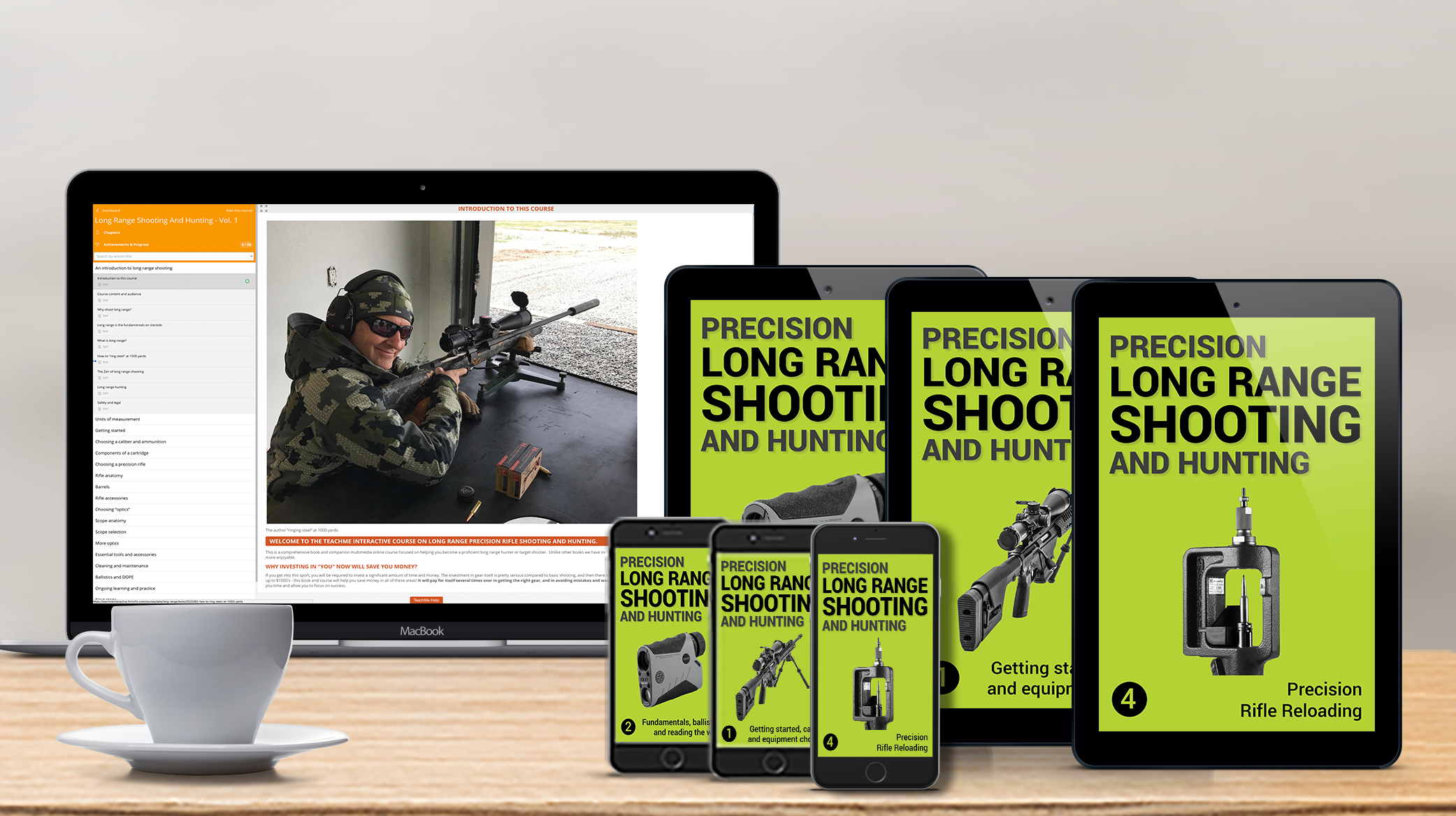 Online Course on Long Range Shooting