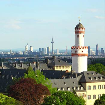 Frankfurt Rhein Main Ebene und Rhein-Main-Gebiet