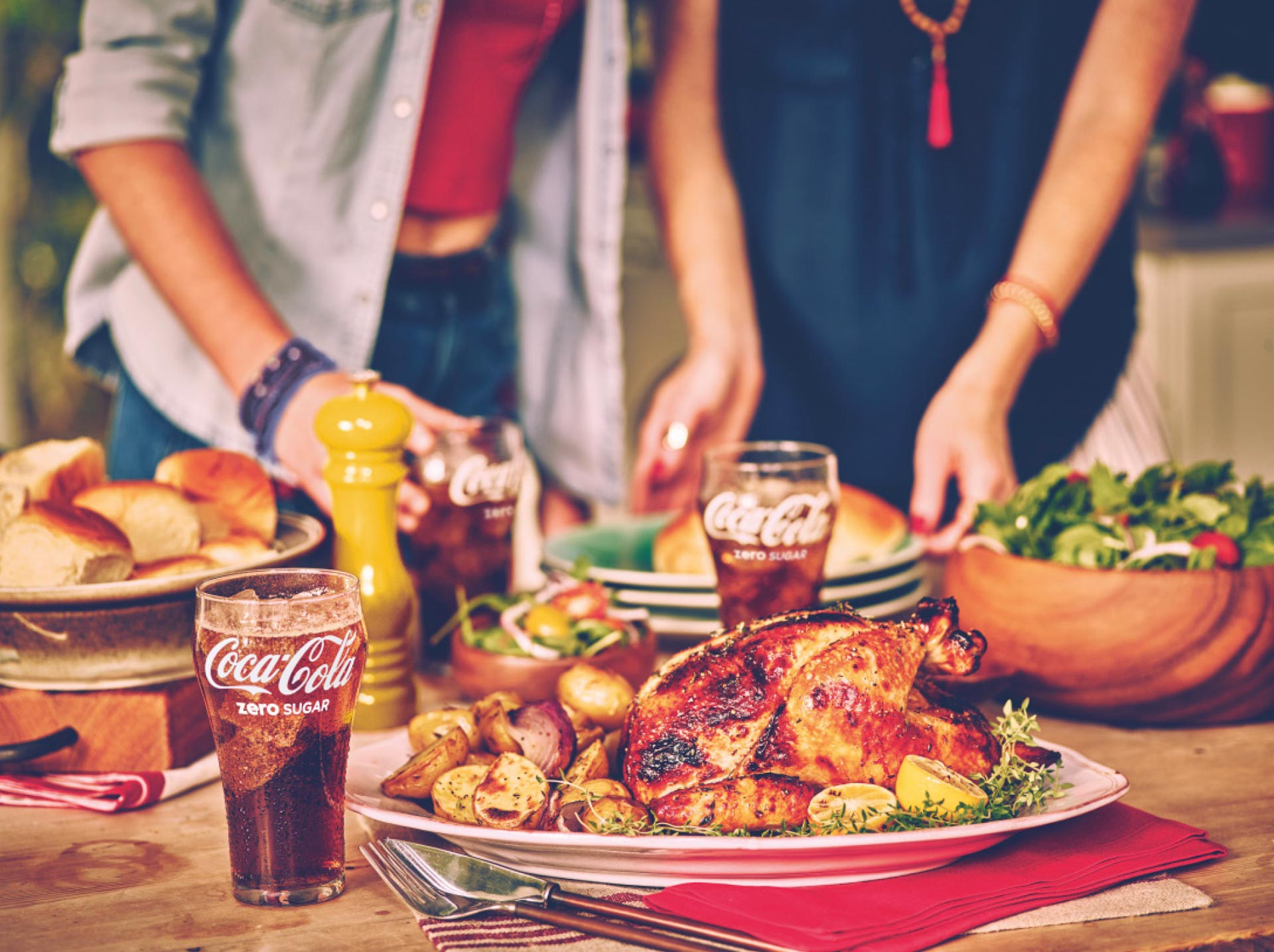 Make Summer Taste Special with Cook By Numbers from Coca Cola