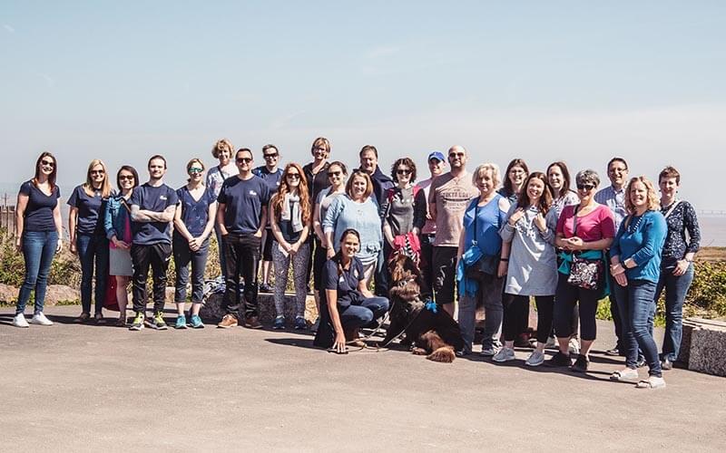 Portishead Met Walking networking event