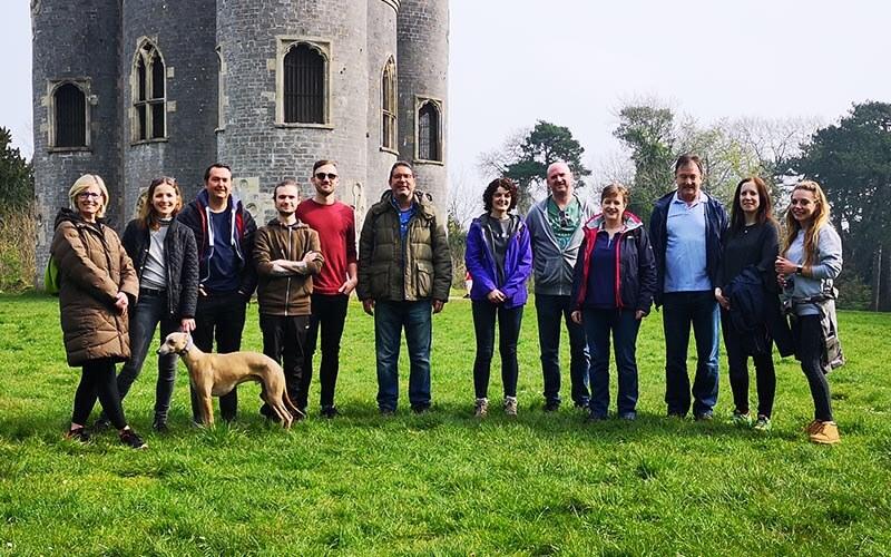 Blaise Castle Met Walking networking event