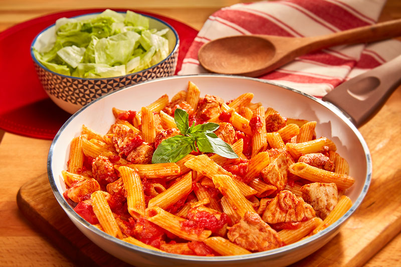 Chicken & Penne Arrabiata