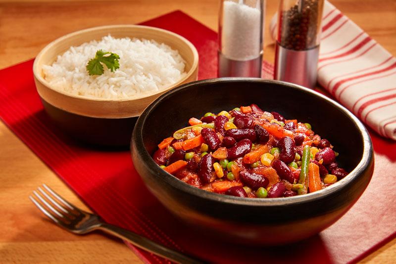 Vegetable Chilli Con Carne