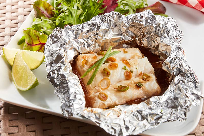 Asian Fish Parcels