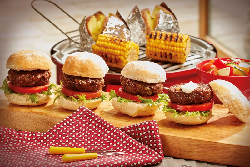 Barbequed Mini Sliders