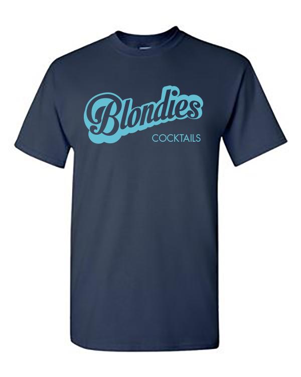 Comfort Navy Blondies Tee - Unisex