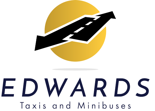 Edwards taxis and minibuses logo